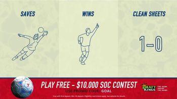 DraftKings 1-Day Fantasy Soccer TV Spot, '$10,000 Contest' - Thumbnail 7