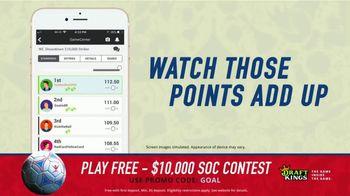 DraftKings 1-Day Fantasy Soccer TV Spot, '$10,000 Contest' - Thumbnail 8