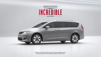 Chrysler Pacifica Incredible Sales Event TV Spot, 'Incredibles 2' [T1] - Thumbnail 6