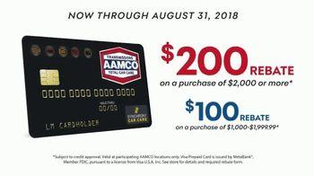 AAMCO Transmissions TV Spot, 'We Hear You: $200 Rebate' - Thumbnail 6