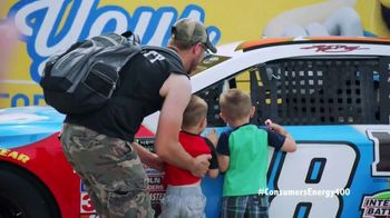 Michigan International Speedway TV Spot, '2018 Consumers Energy 400' - 6 commercial airings