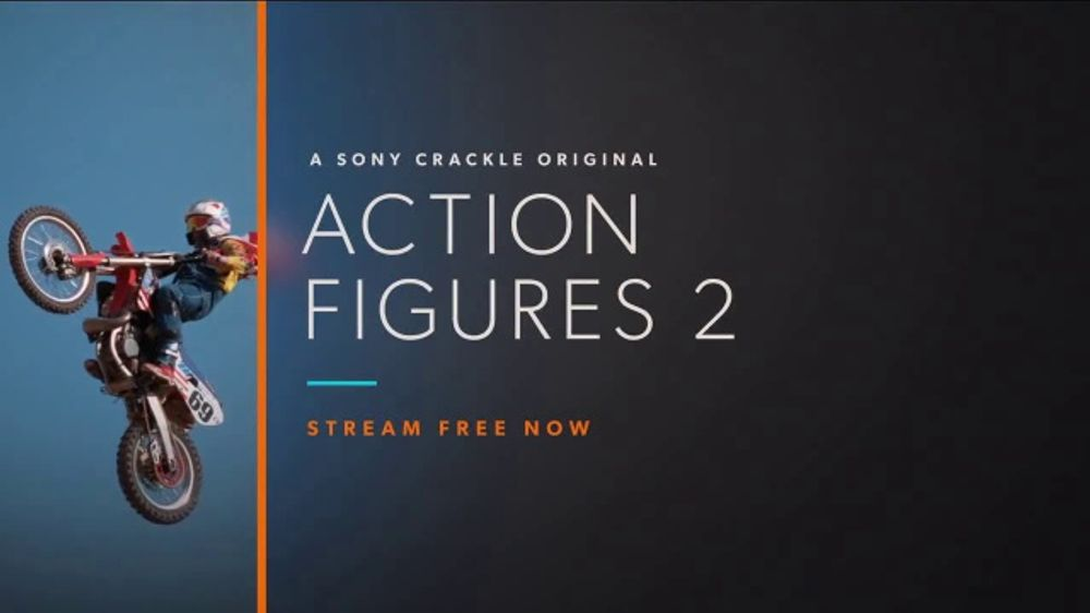 Crackle com TV Commercial, 'Action Figures 2' - Video