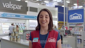 Lowe's TV Spot, 'The Moment: Any Color: Rebate' - Thumbnail 7