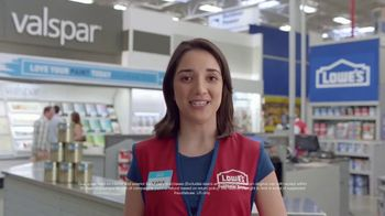 Lowe's TV Spot, 'The Moment: Any Color: Rebate' - Thumbnail 8