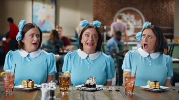 Ruby Tuesday 3-Course Meal TV Spot, 'Triplets' Featuring Rachel Dratch - Thumbnail 9