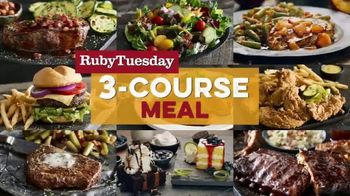 Ruby Tuesday 3-Course Meal TV Spot, 'Triplets' Featuring Rachel Dratch - Thumbnail 2