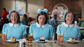 Ruby Tuesday 3-Course Meal TV Spot, 'Triplets' Featuring Rachel Dratch - Thumbnail 8