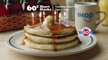 IHOP 60-Cent Short Stacks TV Spot, 'Celebrating 60 Years' - Thumbnail 8