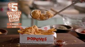 Popeyes $5 Boneless Wing Bash TV Spot, 'A Great Party' - Thumbnail 5