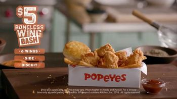 Popeyes $5 Boneless Wing Bash TV Spot, 'A Great Party' - Thumbnail 7