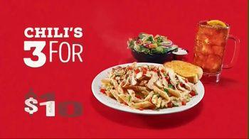 Chili's 3 for $10 TV Spot, 'Starter, Entree and Coke' - Thumbnail 4