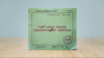 Wimbledon TV Spot, 'The Story of a Ticket' - Thumbnail 2