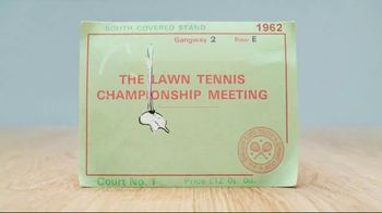 Wimbledon TV Spot, 'The Story of a Ticket' - Thumbnail 4