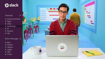 Slack TV Spot, 'There's a Channel for That: Sales'