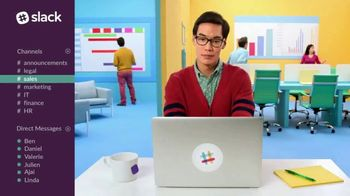 Slack TV Spot, 'There's a Channel for That: Sales' - Thumbnail 3