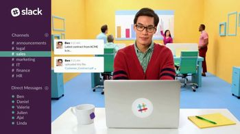 Slack TV Spot, 'There's a Channel for That: Sales' - Thumbnail 5