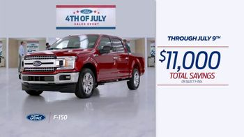 Ford 4th of July Sales Event TV Spot, 'Incredible Deals: Trucks' [T2] - Thumbnail 4