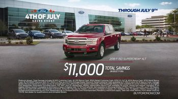 Ford 4th of July Sales Event TV Spot, 'Incredible Deals: Trucks' [T2] - Thumbnail 6