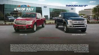 Ford 4th of July Sales Event TV Spot, 'Incredible Deals: Trucks' [T2] - Thumbnail 7