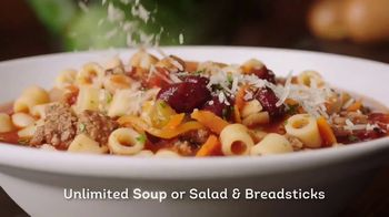 Olive Garden To Go TV Spot, 'Value Every Moment' Song by Jeremy Fisher
