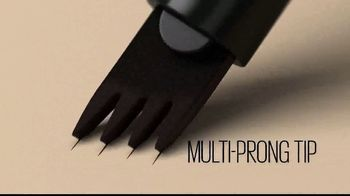 Maybelline Tattoo Studio Brow Tint Pen TV Spot, 'Multi-Prong Tip' - Thumbnail 5