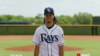 YouTube TV TV Spot, 'Major League Baseball' Ft. Chris Archer, Adam Jones - Thumbnail 1