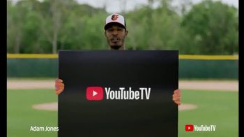 YouTube TV TV Spot, 'Major League Baseball' Ft. Chris Archer, Adam Jones - 2 commercial airings