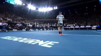Rolex TV Spot, 'The Legends of the Court' Featuring Roger Federer