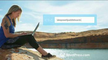 WordPress.com TV Spot, 'Paddleboarding Business' - Thumbnail 5