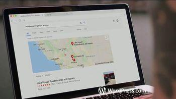WordPress.com TV Spot, 'Paddleboarding Business' - Thumbnail 6