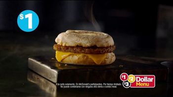 McDonald's $1 $2 $3 Dollar Menu TV Spot, 'Tren' [Spanish] - Thumbnail 8