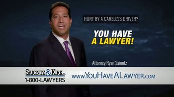Saiontz & Kirk, P.A. TV Spot, 'Drunk Driver' - Thumbnail 8