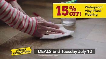 Lumber Liquidators Summer Flooring Project Event TV Spot, 'Get It Done' - Thumbnail 6