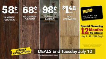 Lumber Liquidators Summer Flooring Project Event TV Spot, 'Get It Done' - Thumbnail 8
