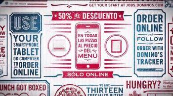 Domino's TV Spot, 'Combinaciones' [Spanish]