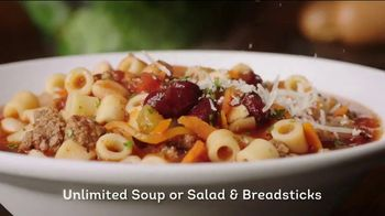 Olive Garden TV Spot, 'Italian Generosity' - Thumbnail 2