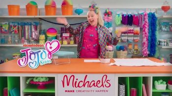 Michaels TV Spot, 'Nickelodeon: JoJo Siwa Designs a T-Shirt' - Thumbnail 1