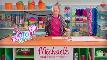 Michaels TV Spot, \'Nickelodeon: JoJo Siwa Designs a T-Shirt\'