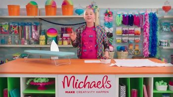 Michaels TV Spot, 'Nickelodeon: JoJo Siwa Designs a T-Shirt'