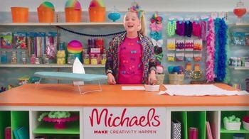 Michaels TV Spot, 'Nickelodeon: JoJo Siwa Designs a T-Shirt' - Thumbnail 4