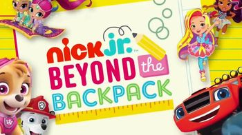Nick Jr. TV Spot, 'Beyond the Backpack: Healthy Habits' - 400 commercial airings