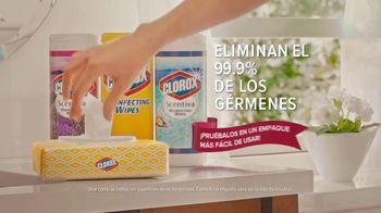 Clorox Disinfecting Wipes TV Spot, 'Casi limpio no es limpio' [Spanish] - Thumbnail 8