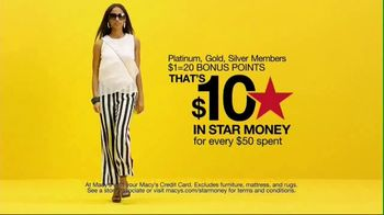 Macy's Black Friday in July TV Spot, 'Star Money Days and Free Shipping' - Thumbnail 4