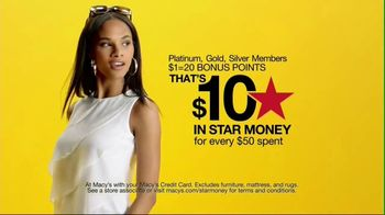 Macy's Black Friday in July TV Spot, 'Star Money Days and Free Shipping' - Thumbnail 5