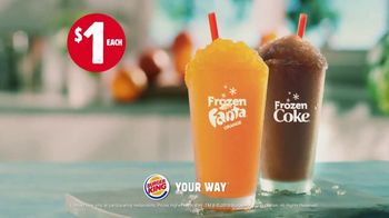 Burger King TV Spot, 'Beat the Summer Heat' - Thumbnail 8
