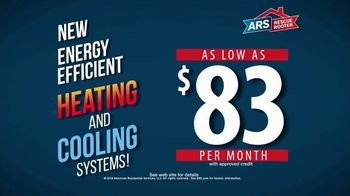 ARS Rescue Rooter TV Spot, 'Energy Efficient'