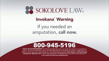 Sokolove Law TV Spot, 'Invokana Amputations' - Thumbnail 4