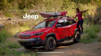 2019 Jeep Cherokee TV Spot, 'American Ninja Warrior: Rock Climbing' [T1] - 1 commercial airings