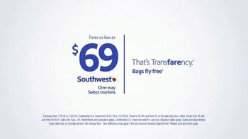 Southwest Airlines Fall Travel Sale TV Spot, 'Fill the Rest of Your Year' - Thumbnail 10