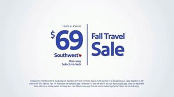 Southwest Airlines Fall Travel Sale TV Spot, 'Fill the Rest of Your Year' - Thumbnail 9